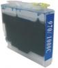 Qualy-Print Tintenpatrone LC-970XXL LC-1000XXL (HC) Cyan mindestens 3fache Kapazitaet