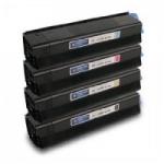 Qualy-Print Toner zu OKI C 3100 / C 3200 Schwarz 5'000 Seiten Nr.42804516, 42804540