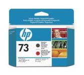 HP Druckkopf CD949A  73 matte black/red