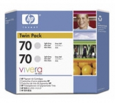 HP Tintenpatrone CB342A 70 light grey