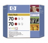 HP Tintenpatrone CB347A 70 red