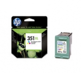 HP Tintenpatrone 351 XL  CB338EE color