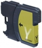 Qualy-Print Tintenpatrone LC-980XL LC-1100XL (HC) Yellow doppelte Kapazitaet