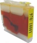 Qualy-Print Tintenpatrone LC-970XXL LC-1000XXL (HC) Yellow mindestens 3fache Kapazitaet
