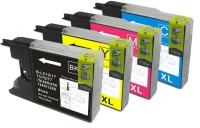 Qualy-Print Tintenpatrone LC-1280 /LC-1240 Cyan XL