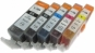 Qualy-Print Sparset 15XL Patronen 3x PGI-550, je 3x CLI-551 C,M,Y,Bk, entspr. Canon PGI-550, CL-I551